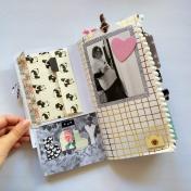 Baby Junk Journal Layout