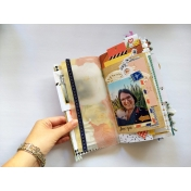 Love You Junk Journal Layout