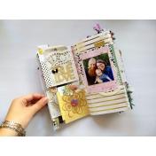 True Love Junk Journal Layout