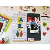 Family Fun Travelers Notebook Spread