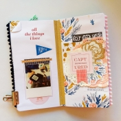 All the Things I Love Travelers Notebook