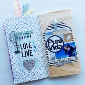 Pura Vida Travelers Notebook