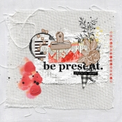 Be Present Collage Page