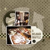 A Belgian Waffle
