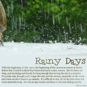 2009-07-15, Rainy Days