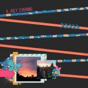 A July Evening