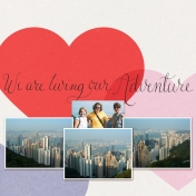 We Are Living Our Adventure- Hong Kong