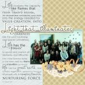 Light that illuminates darknes
