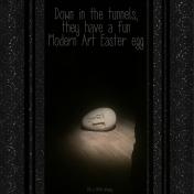 Modern Art Easter Egg
