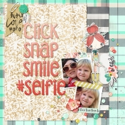 click, snap, smile, #selfie