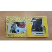 blue skies and lemonade minialbum second page