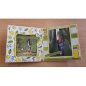 blue skies and lemonade minialbum fifth page