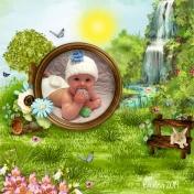 Hanalia's 1st Easter