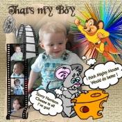 Thats my boy web