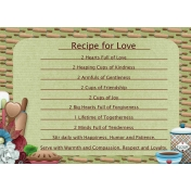 Let's Bake Recipe Card