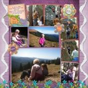 2016-04-02 Gram & Family at Mary's Peak