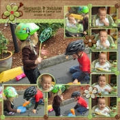 Gray Kids & Bubbles