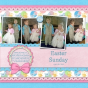 2014-00 Samuel & Emma's Easter Outfits
