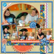 Heather's Dinner at Azteca b