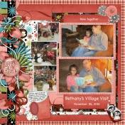 Bethany's 'Village Visit' b