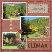 Climax in the Fall- The Leaves