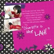 Charlotte is Me Lah!