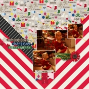 Christmas Day Quick Layout