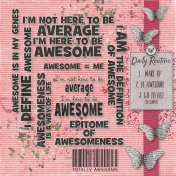 How to Be Awesome- Word Cloud