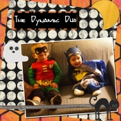 Halloween 2012- The Dynamic Duo