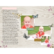 Baby Book Page- 8 months old