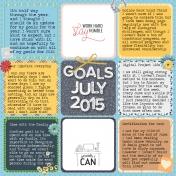 2015 Goals- Updated
