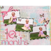 Baby Book Page 10 months.