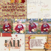Fall Traditions Pocket Page