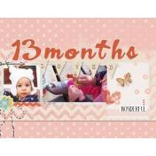 13 months Sparkleheart