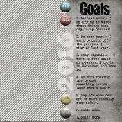 Goals- 2016