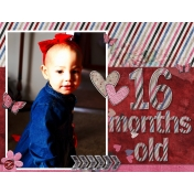 16 month old Sparkleheart