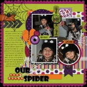 Our Itsy Bitsy Spider