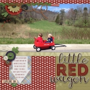 Little Red Wagon Walk
