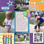 Happy 4th Birthday Jonah- Page 2
