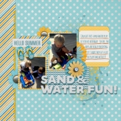 Sand and Water Fun