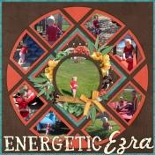 Energetic Ezra!