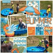 Summer Splash- Baby Pool Edition