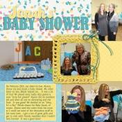 Jonah's Baby Shower