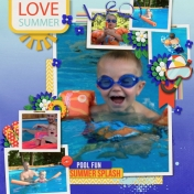 Goggle Crazy: Fun at Uncle Mike's Pool