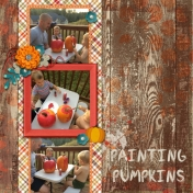 Painting Pumpkins 2016- our family tradition
