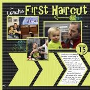 First Haircut- January2014