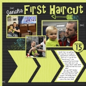 First Haircut- January2014