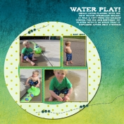 Playing with the Snake Water Sprinkler
