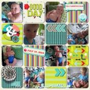 Ezra is 2 Months Old 2014
