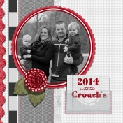 Cover Page for Our 2014 Scrapbook